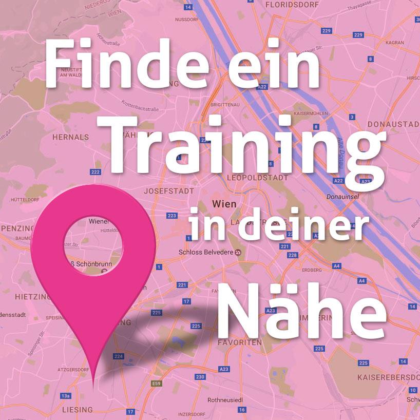 Finde ein mamaFIT Training in deiner Nähe