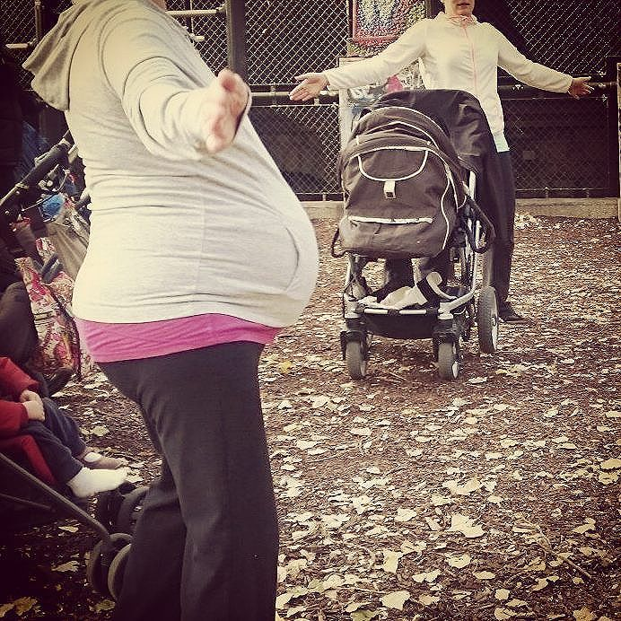mamafit donaukanal babybelly pregnant schwanger babybauch