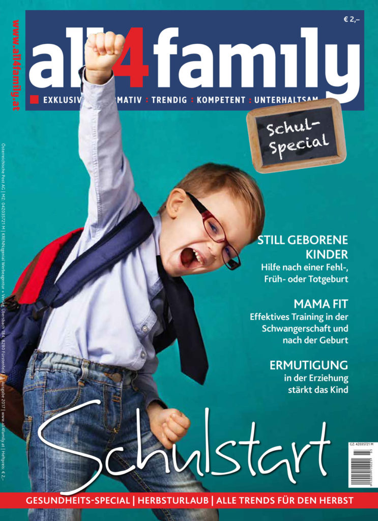 all4family Cover Herbst 2017 mit mamaFIT Story