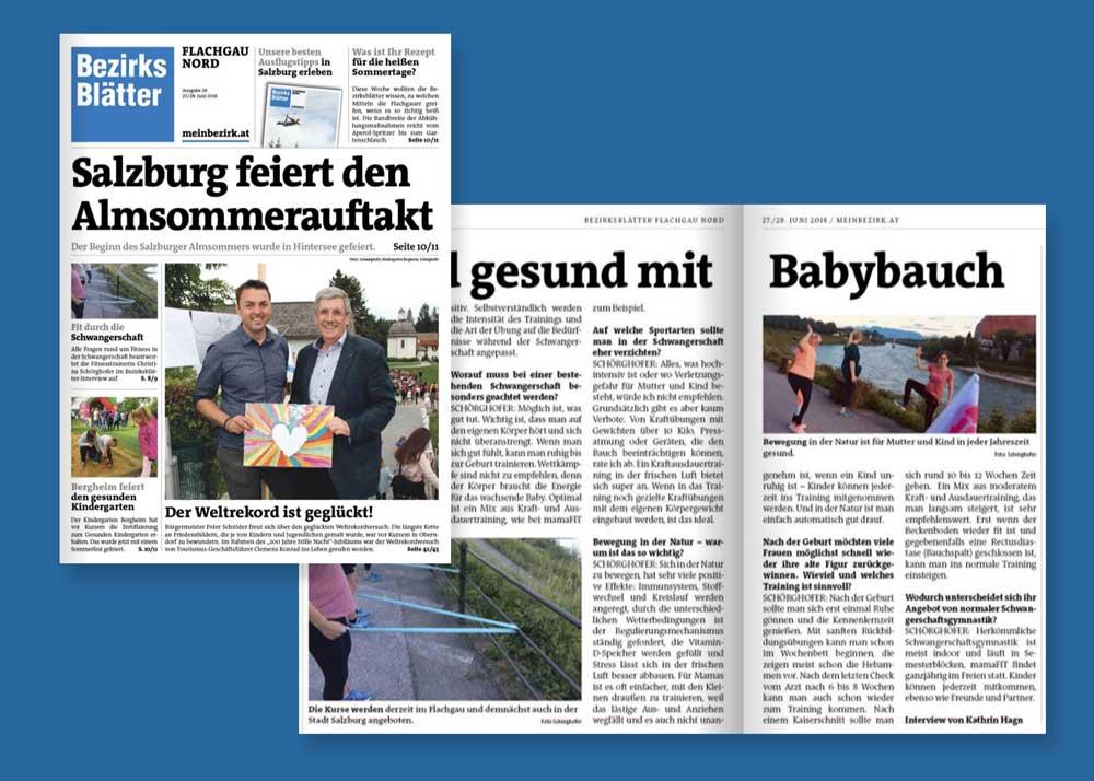 Fit und gesund mit Babybauch – Bezirksblätter Salzburg