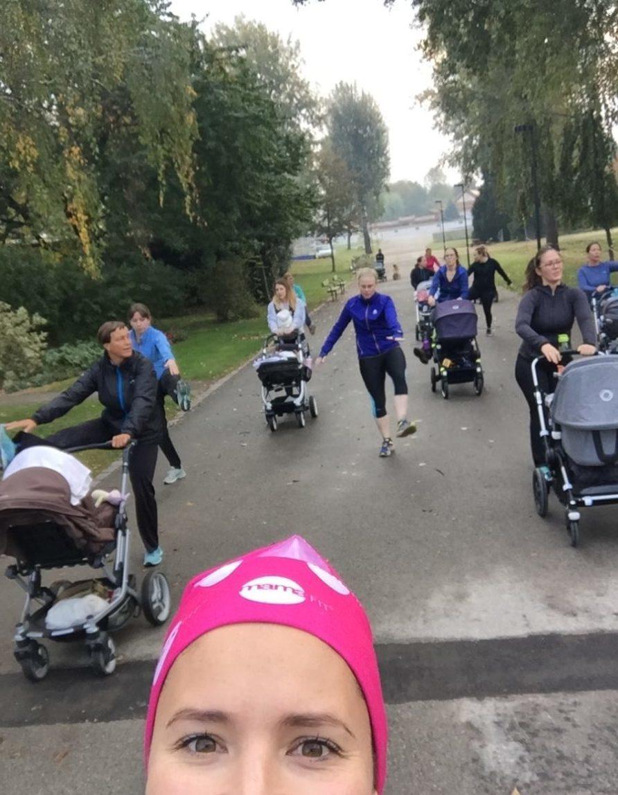 mamaFIT mit Felizitas, Donaupark