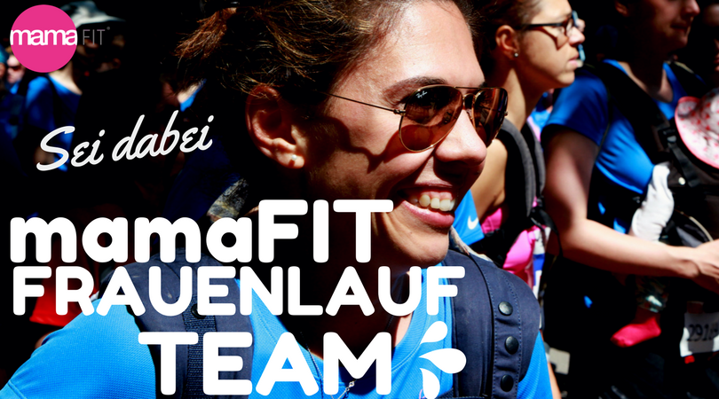 mamaFIT Frauenlauf Team + mamaFIT Picknick
