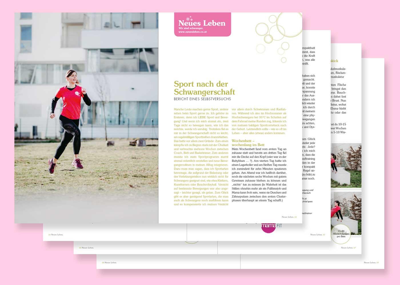 Sport nach der Schwangerschaft – Neues Leben