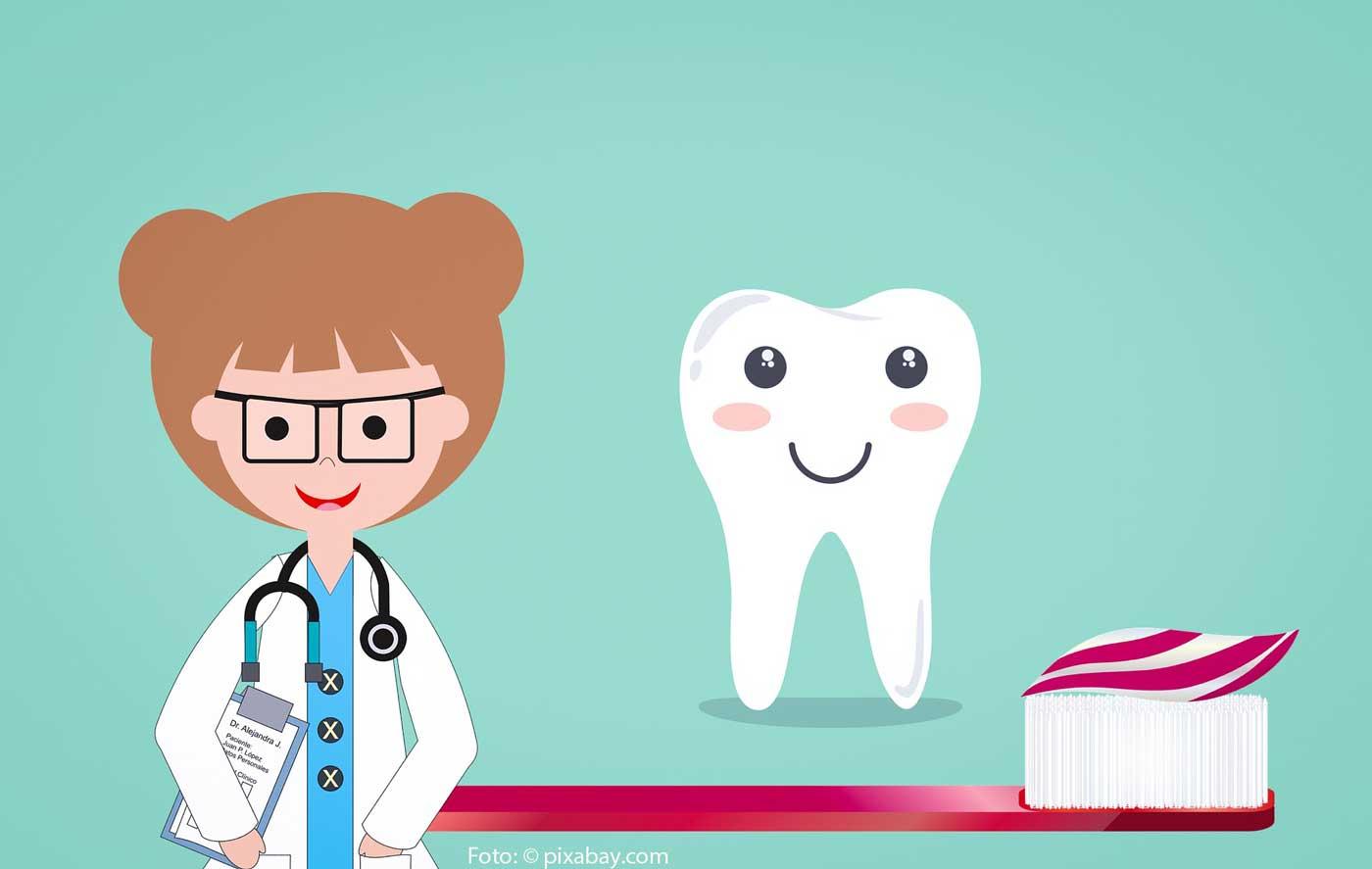 Zähne putzen bei (Klein)kindern